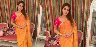 Diwali 2019: Sara Ali Khan's Bandhani Saree Is Your Answer To Rock The Celebrations This Season!
