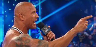 Dwayne Johnson AKA The Rock RETURNS To The WWE Wrestling Ring!