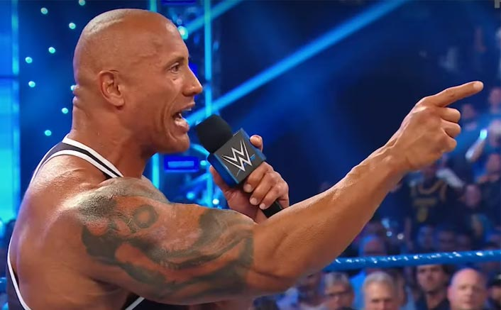 Dwayne Johnson AKA The Rock RETURNS To The WWE Wrestling Ring!