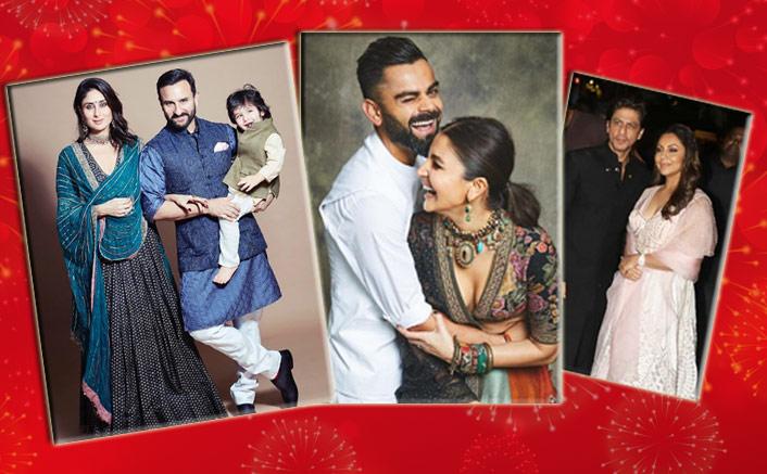 From Anushka Sharma-Virat Kohli To Shah Rukh Khan-Gauri Khan, Here Are All The Diwali Look You Need To Check RN!