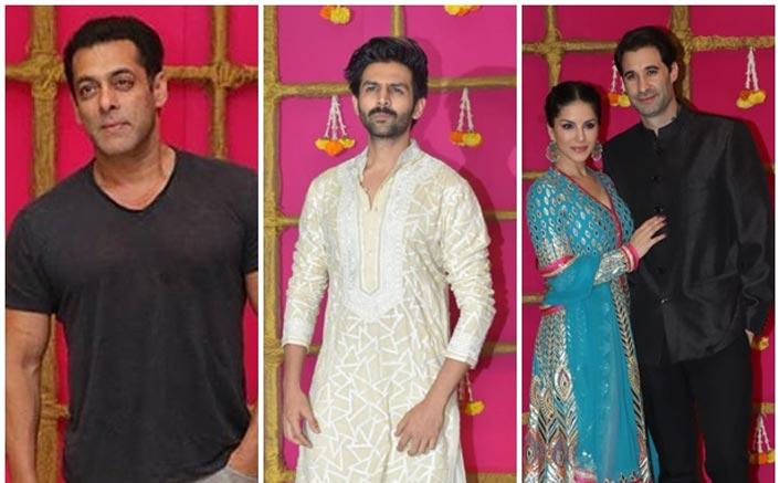 Diwali 2019: From Dapper Salman Khan To Heartthrob Kartik Aaryan, Krishna Kumar's Party Was Literally LIT