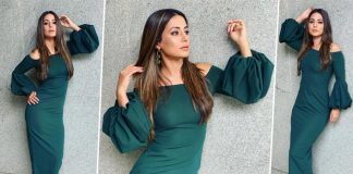 Hina Khan Flaunts Her Perfect Bod In This Hot Green Dress, See Photos