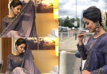 Hina Khan Teaches You To Rock The Lavender Look For Your Next Wedding Outing!