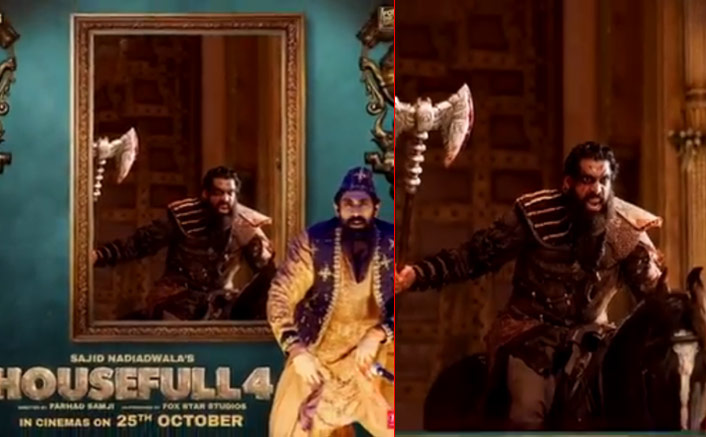 Housefull 4: Akshay Kumar Reveals Raja Gama AKA Rana Daggubati's Motion Poster