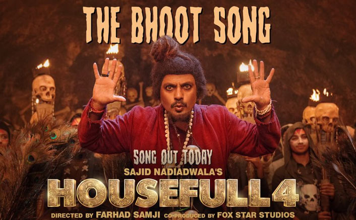 Housefull 4: Nawazuddin Siddiqui Gets A 'Sacred Games' Caption From Akshay Kumar For The Bhoot Song's Poster