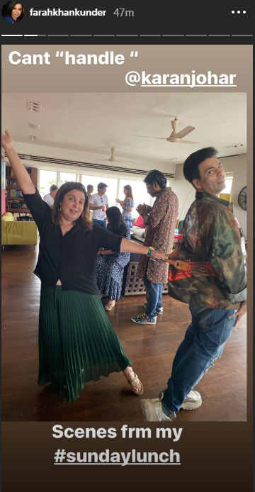 #BlockbussterLunch: Kartik Aaryan, Ananya Panday, Karan Johar Join Farah Khan's Starry Lunch Party