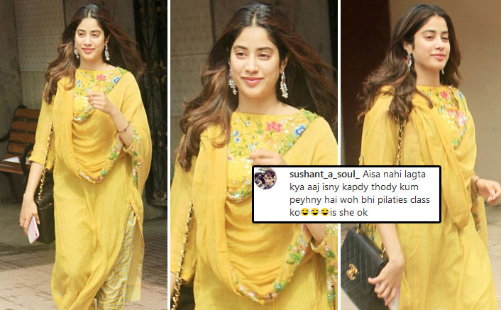 VIDEO: Janhvi Kapoor TROLLED For Wearing Dupatta With Its Price Tag On!