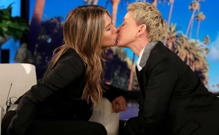 "Jennifer Aniston To Ellen DeGeneres After Their VIRAL Kiss: ""Very Soft Lips"""