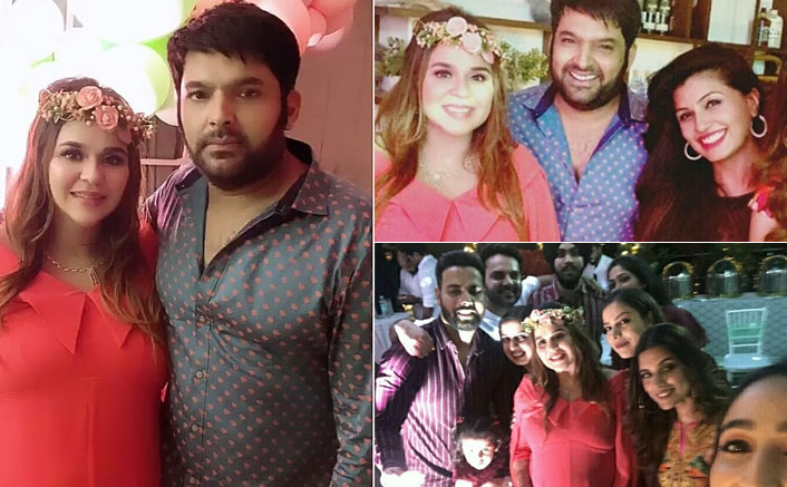 Kapil Sharma Hosts A Baby Shower For Wife Ginni Chatrath; The Kapil Sharma Show Co-Stars Attend The Bash