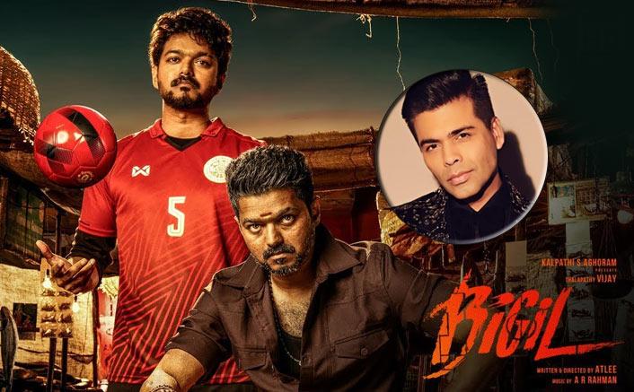 "Karan Johar Reviews Thalapathy Vijay's Bigil: ""A Roller Coaster Of Emotions, Triumph & An Unparalleled Adrenalin Rush"""