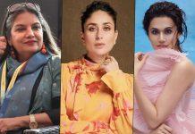Kareena Kapoor Khan, Taapsee Pannu, Shabana Azmi On Pay Disparity In Bollywood