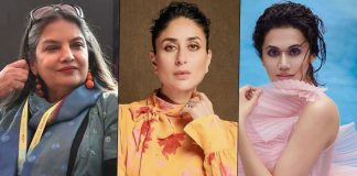 Kareena Kapoor Khan, Taapsee Pannu, Shabana Azmi On Pay Disparity In Bollywood