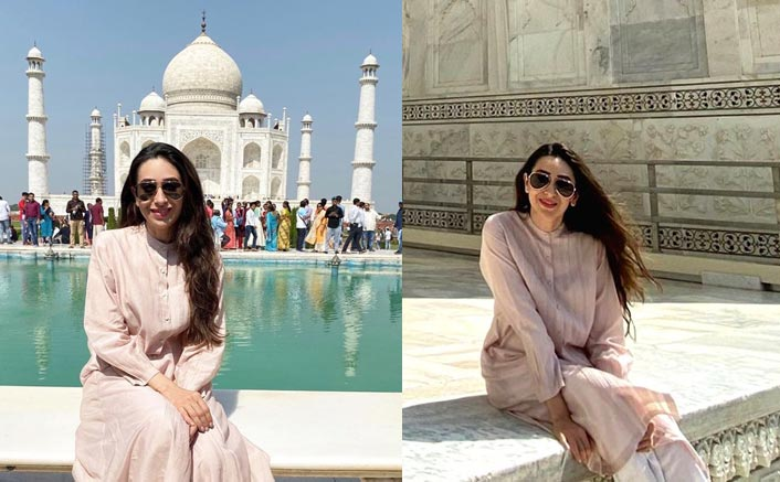 Karisma Kapoor is 'mesmerised' by beauty of the Taj