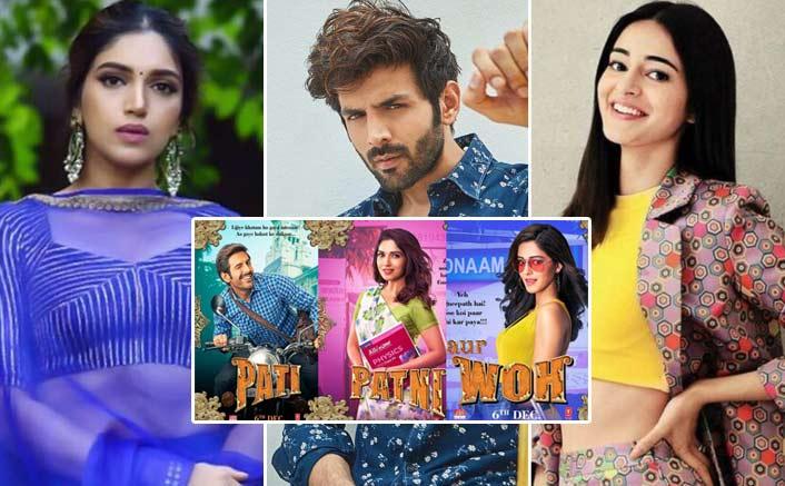 Kartik Aaryan Is Sandwhiched Between His Patni & Woh!