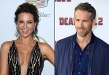 Kate Beckinsale thinks she looks like Ryan Reynolds