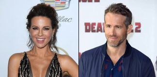 Kate Beckinsale thinks she looks like Ryan Reynolds