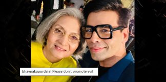 KJo's selfie with Ma Anand Sheela draws flak and praise