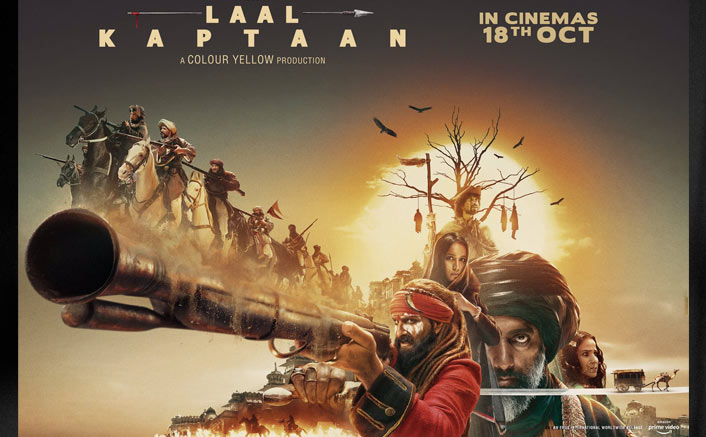 Laal Kaptaan Box Office Day 3 Advance Booking: Saif Ali Khan Starrer Dips Further!