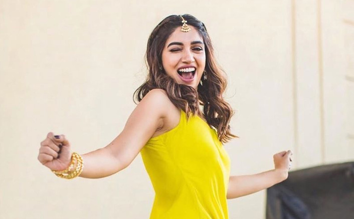 Looking For A Gorgeous Haldi Dress? Bhumi Pednekar's Yellow Kurti Will Just Do Wonders!