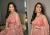 MadhuriDixit's Pink Saree Is All You Need To Define Elegance This Wedding Season!