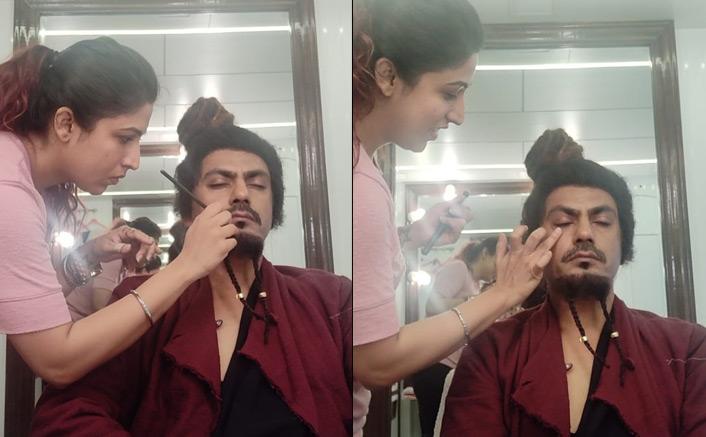Makeup artist Sanah Kewal transforms Nawazuddin Siddiqui into Ramsay Baba