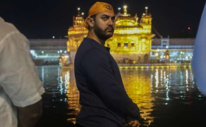 Aamir Khan Visits Golden Temple Before Starting The Shoot Of Laal Singh Chaddha From 4th November