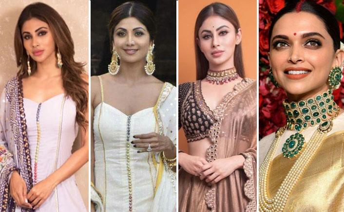 Mouni Roy REPLICATES Deepika Padukone, Shilpa Shetty's Attires For Made In China Promotions!