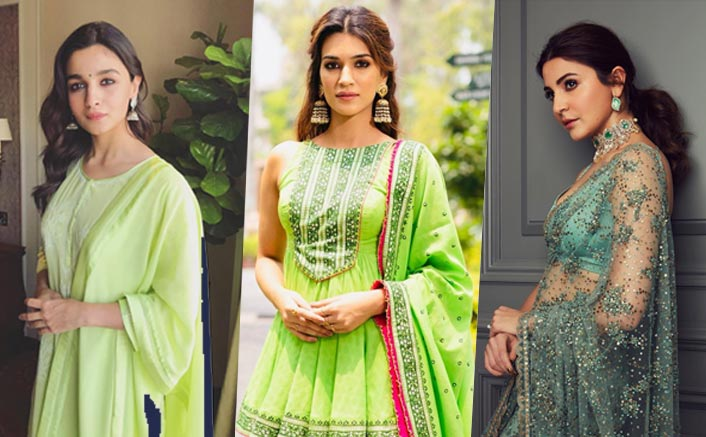 Navratri Day 6: 5 Green Outfits To Steal From Your Favourite Star For Shashthi