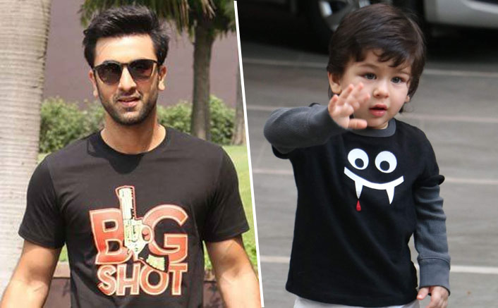 Not Just Us But Even Ranbir Kapoor Is Obsessed WIth Taimur Ali Khan