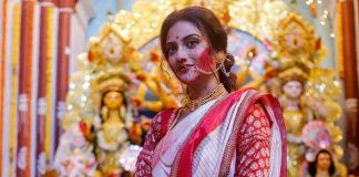 Nusrat Jahan opens up about being criticized for participating in Durga Puja