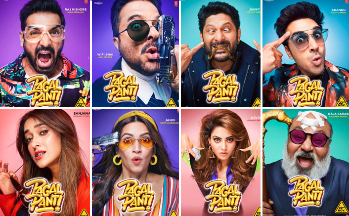 Pagalpanti Character Posters: John Abraham, Arshad Warsi, Kriti Kharbanda All Set To Spread Some Madness