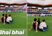 Pic: Did Disha Patani Call Tiger Shroff Her 'Bhai'?