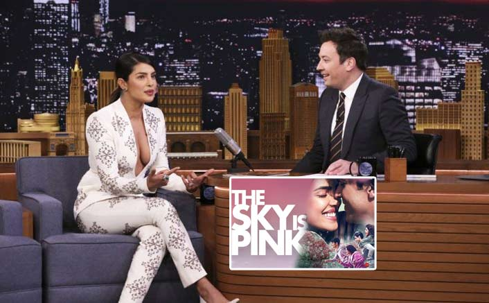 Priyanka Chopra Jonas's The Sky Is Pink becomes first Bollywood film to be promoted on Jimmy Fallon's chat show