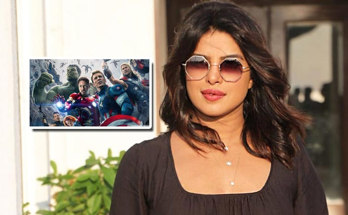 Priyanka Chopra on Marvel Super Hero
