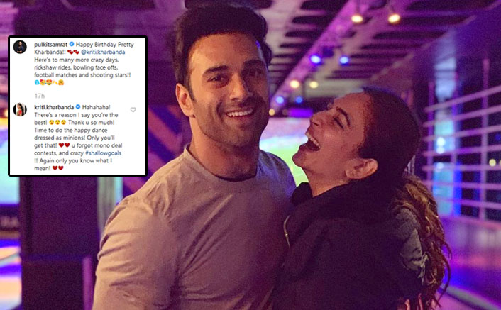 Pulkit Samrat Shares A Cute Birthday Wish For Rumoured Ladylove Kriti Kharbanda & She Can't Stop Gushing Over Him