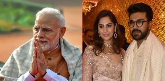Ram Charan's Wife Upset With PM Modi For Neglecting The South Industry At The Change Within Meet