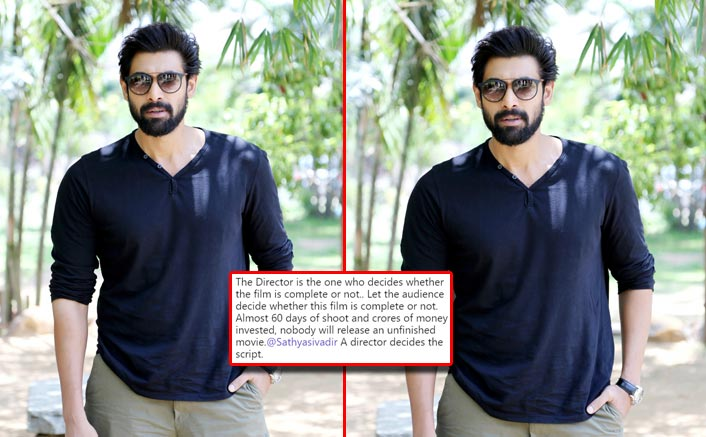 Rana Daggubati Indulges In A Twitter Spat With 1945 Producers Over Non Payment Of Dues