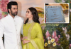 Ranbir-Alia's fake wedding card goes viral on social media