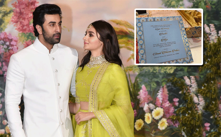 Ranbir Kapoor-Alia Bhatt's Fake Wedding Card Goes Viral On Social Media & Has Left The Fans In Splits