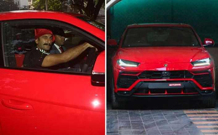 Ranveer Singh's New Red HOT Lamborghini Costs A BOMB!