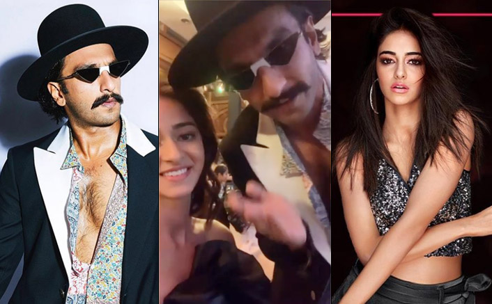 VIDEO: Ranveer Singh's 'Energetic' Support To Ananya Panday's 'So Positive' Initiative!