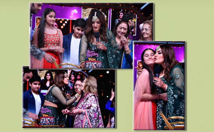Nach Baliye 9: Birthday Girl Raveena Tandon Gets Emotional As Her Family Gives Surprise