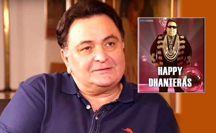 Rishi Kapoor's Savage Dhanteras Wish Includes A Bappi Lahiri Pic