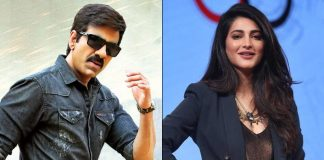 RT66: Shruti Haasan Roped In Opposite Ravi Teja For Gopichand Malineni's Action Drama