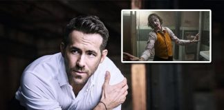 Ryan Reynolds congratulates 'Joker' team with curses
