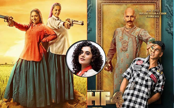 Saand Ki Aankh Actress Taapsee Pannu Opens Up On A Clash With Housefull 4
