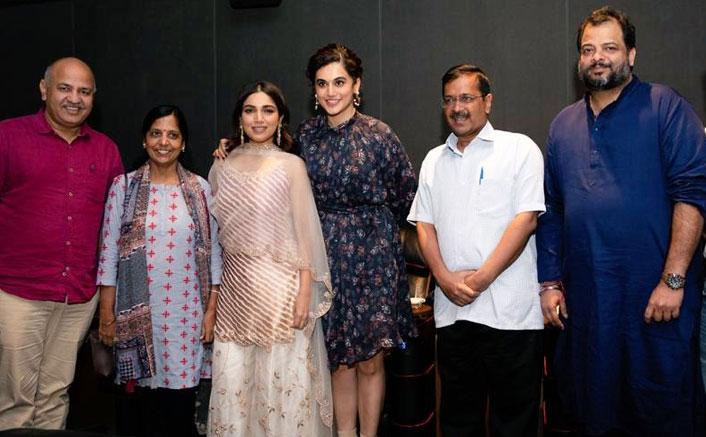 Saand Ki Aankh: Delhi CM Showers Appreciation On Bhumi Pedenkar & Taapsee Pannu