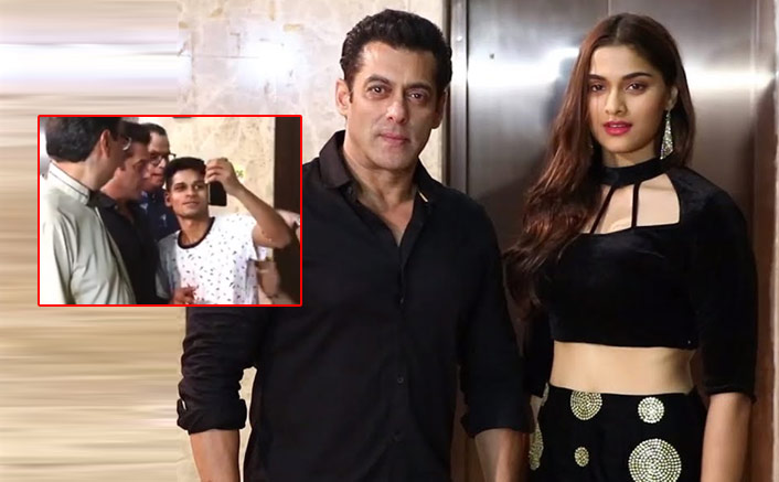 VIDEO: Salman Khan's Fan Forcefully Tries To Take Picture; Actor Left Baffled