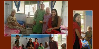 Samikssha Batnagar's Diwali at old age home