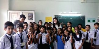 Sanjana Sanghi spends a day with underprivileged kids